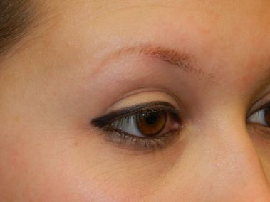 Before Permanent Eyebrows b