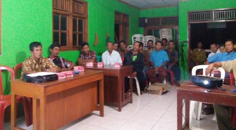 Masyarakat RW 1 Desa Dermaji Bentuk Posdaya