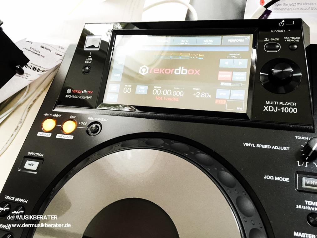 05 Pioneer DJ XDJ 1000 Traktor HID Serato Case Player Nexus Z2 Traktor 2.10 Blog Tech www.dermusikberater.de 08-2015