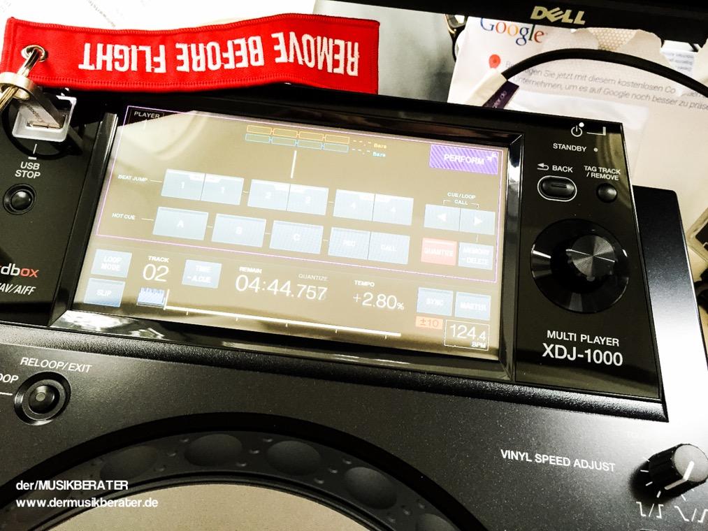 12 Pioneer DJ XDJ 1000 Traktor HID Serato Case Player Nexus Z2 Traktor 2.10 Blog Tech www.dermusikberater.de 08-2015