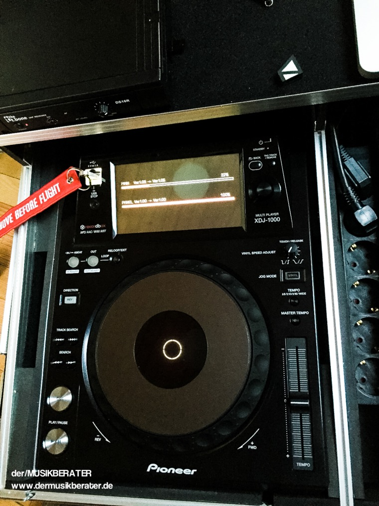 25 Pioneer DJ XDJ 1000 Traktor HID Serato Case Player Nexus Z2 Traktor 2.10 Blog Tech www.dermusikberater.de 12-2015