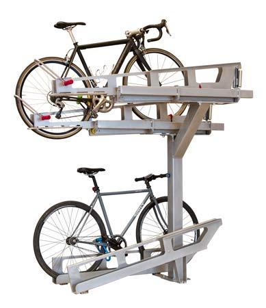 dero decker 2 tier bicycle parking