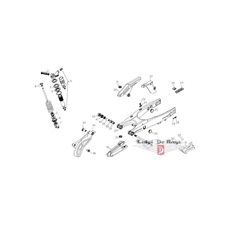 Kit Revisione Forcellone PROX Honda CRF 250 CRF 450
