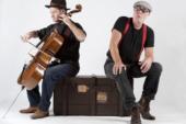 Gratis koffie-optreden zanger/tekstdichter Gerard Wortel en cellist Bas van Waard in het Brinkhuis Laren