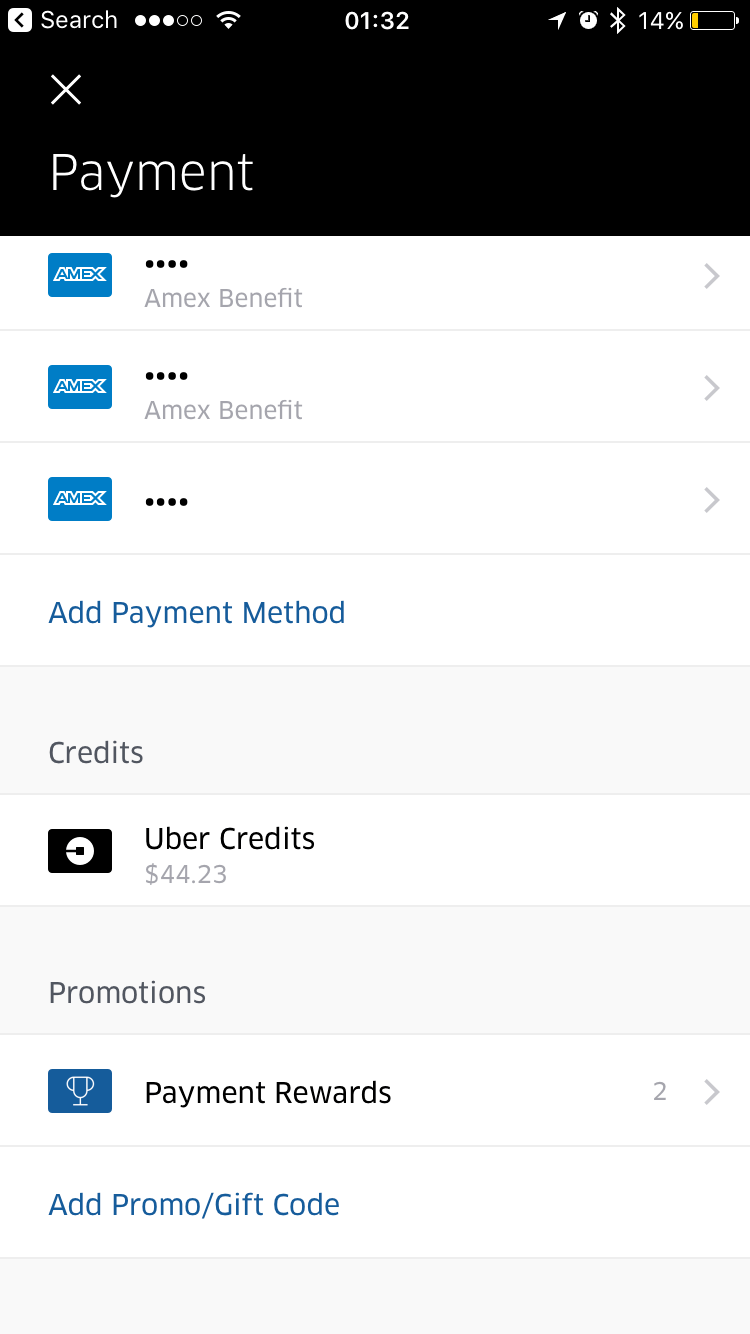 Uber Eats Works For 15 Amex Monthly Credit Derp Report