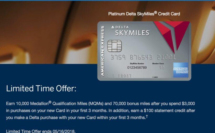 Delta Amex Login >> American Express Platinum Delta Skymiles Login
