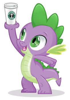 Caffeinated Dragonling by CatWhitney