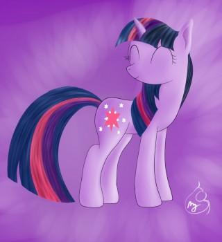 Pony Art Challenge: Day 2, Twilight Sparkaru by Silverwindpegasus