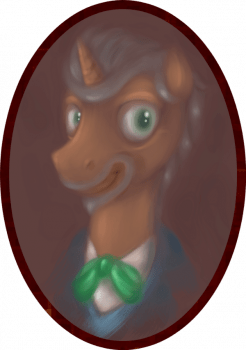 The Pony Professor by Perrydotto