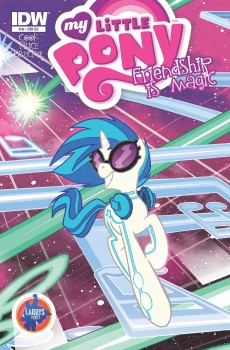 Vinyl Scratch Cover Issue #10