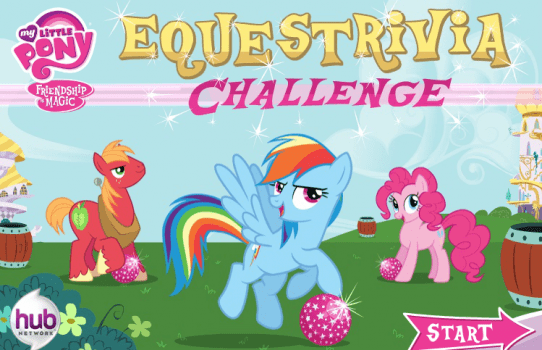 Equestrivia Challenge on Hub World