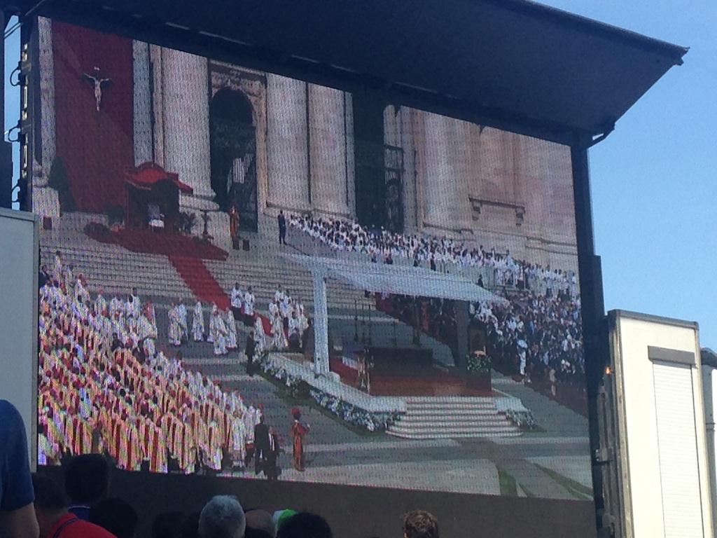 Eveques, archevêques et cardinaux à Rome