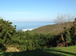 Vue mer de la villa Kaioa, location de vacances près de Biarritz