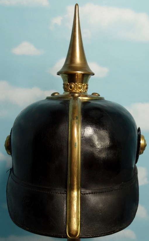 Prussia - Pickelhaube - One-Year-Volunteer  - Grenadier-Regiment w/FRW - Imperial German Military Antiques Sale