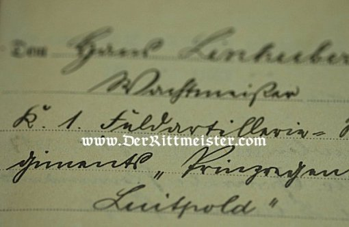 CIVILIAN IDENTIFICATION PAPERS - Imperial German Military Antiques Sale
