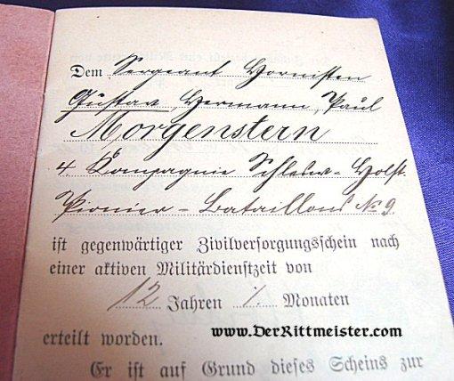 CIVIL INTERNAL PASSPORT - Imperial German Military Antiques Sale