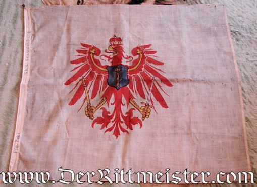 FLAG - BATTLESHIP (LINIENSCHIFF) S. M. S. BRANDENBURG'S - Imperial German Military Antiques Sale