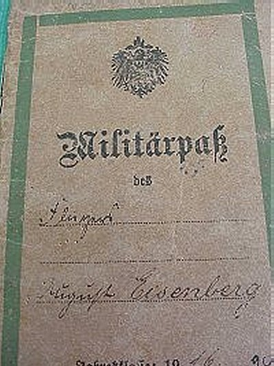 AVIATION MILITÄRPAß - Imperial German Military Antiques Sale