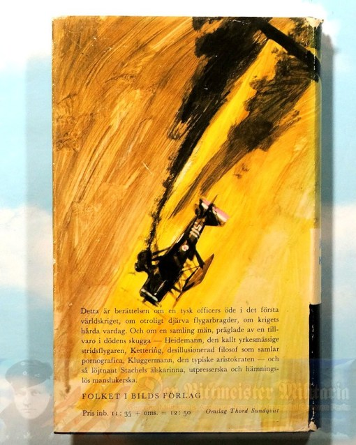 JACK D. HUNTER - BOOK - THE BLUE MAX (DEN BLÅ MAX) - Imperial German Military Antiques Sale