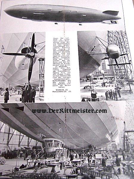 GERMANY - MAGAZINE - DER DEUTSCHE SPORTFLIEGER - Imperial German Military Antiques Sale