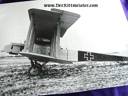 GERMAN BOMBERS OF WW I IN ACTION by DON GREER - Imperial German Military Antiques Sale