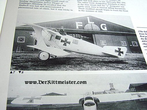 GERMANY - BOOK- LFG ROLAND C. II by P.M. GROSZ - Imperial German Military Antiques Sale