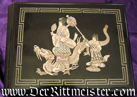 CHINA COLONIAL - PHOTO ALBUM - WOOD & IVORY - Imperial German Military Antiques Sale