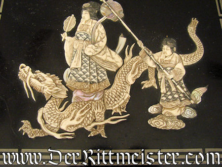PHOTO ALBUM - WOOD & IVORY CHINESE/COLONIAL - Imperial German Military Antiques Sale