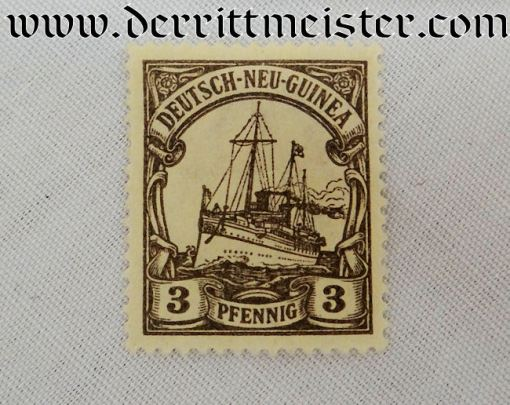 STAMP SET - COLONIAL GERMAN NEW GUINEA - Imperial German Military Antiques Sale