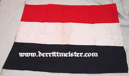 FLAG - GERMAN NATIONAL - Imperial German Military Antiques Sale