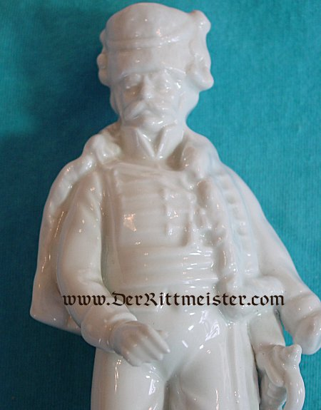 PORCELAIN FIGURE OF A HUSSAR - Imperial German Military Antiques Sale
