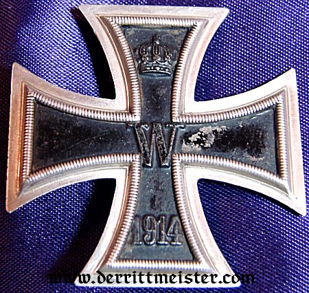 IRON CROSS - 1914 - 1st CLASS - K.A.G. - Imperial German Military Antiques Sale