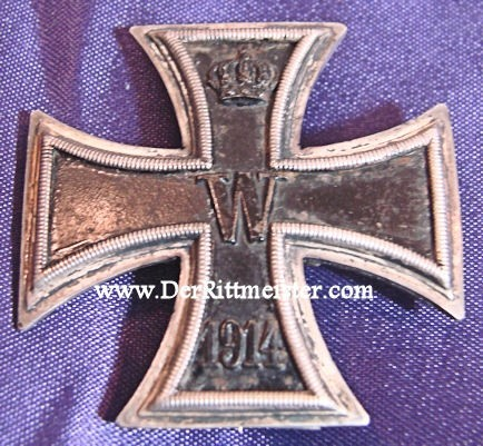 IRON CROSS - 1914 - 1st CLASS - LOW-VAULTED - Imperial German Military Antiques Sale