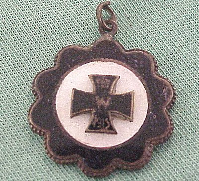 PATRIOTIC PENDANT - 1914 IRON CROSS - Imperial German Military Antiques Sale