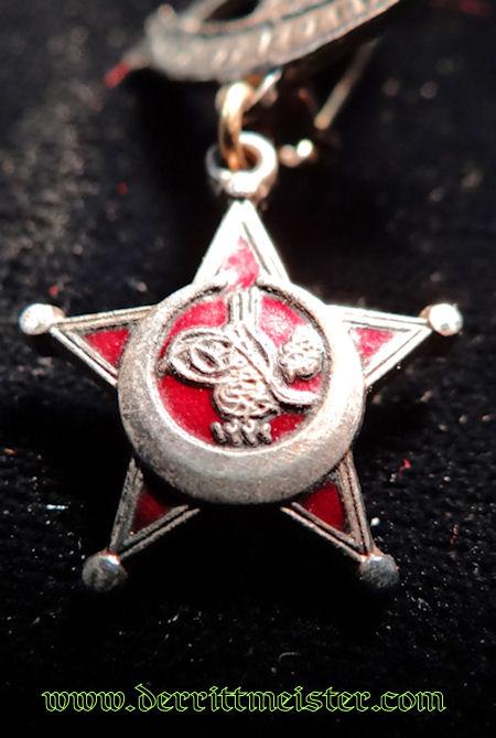 PATRIOTIC TURKISH - GALLIPOLI STAR - MINIATURE - Imperial German Military Antiques Sale