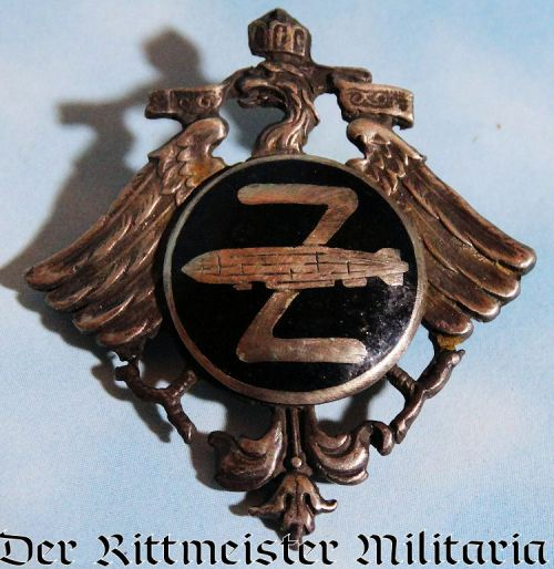 PRE WW I ZEPPELIN BADGE - Imperial German Military Antiques Sale