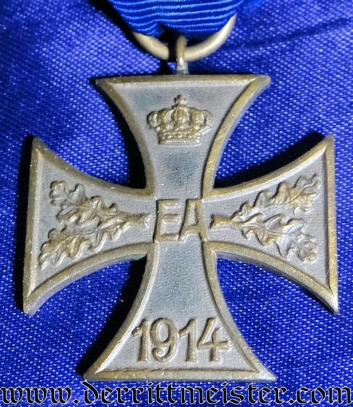 WAR SERVICE CROSS 2nd CLASS - BRAUNSCHWEIG - Imperial German Military Antiques Sale