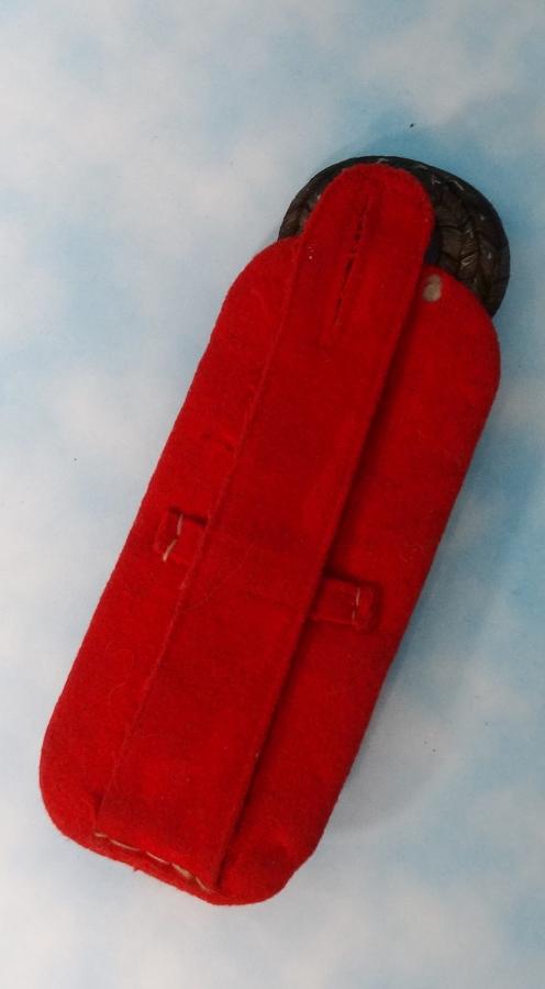 BADEN - SHOULDER BOARD - OBERST - ARTILLERIE-REGIMENT - Imperial German Military Antiques Sale