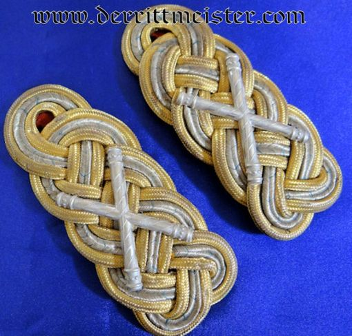 BAVARIA - SHOULDER BOARDS - GENERALFELDMARSCHALL - Imperial German Military Antiques Sale