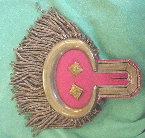 PRUSSIA - EPAULETTES - OBERST - GARDE-ULANEN-REGIMENT Nr 2 - Imperial German Military Antiques Sale