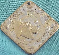 PATRIOTIC MEDAL  - KAISER WILHELM I - Imperial German Military Antiques Sale