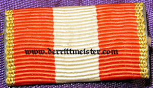 HAMBURG - RIBBON BAR - ONE-PLACE - HANSEATIC CROSS - Imperial German Military Antiques Sale
