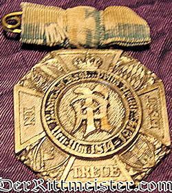 BAVARIA - BADGE - 100th ANNIVERSARY - KÖNIGLICH BAYERISCHES INFANTERIE-REGIMENT Nr 12's - Imperial German Military Antiques Sale