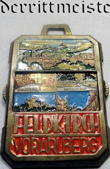 BADGE  - FELDKIRCH VORARLBERG - Imperial German Military Antiques Sale