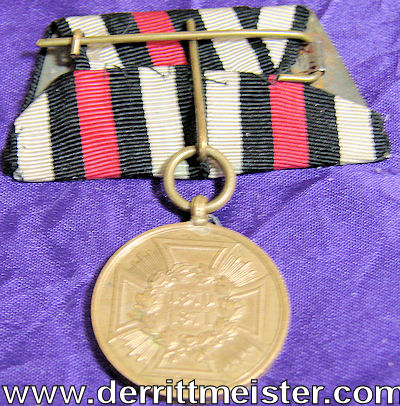 PRUSSIA - MEDAL BAR - ONE PLACE - Imperial German Military Antiques Sale