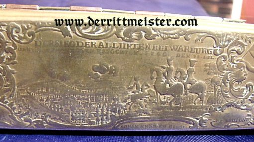 TOBACCO BOX - ERA 1750 - 1775 - FREDERICK THE GREAT'S TIME - Imperial German Military Antiques Sale