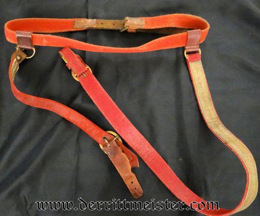 SWORD BELT - Imperial German Military Antiques Sale
