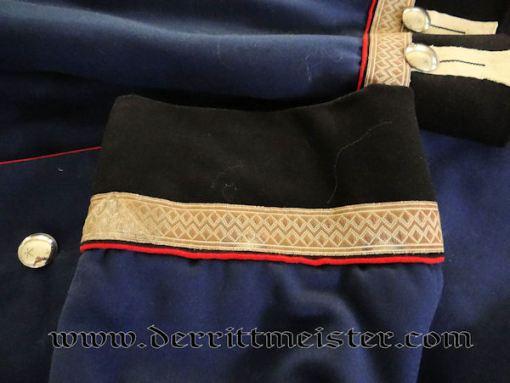 PRUSSIA - TUNIC - UNTEROFFIZIER - GARDE PIONIER BATAILLON - Imperial German Military Antiques Sale