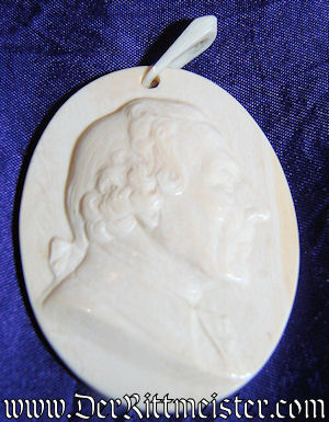 """""""CAMEO"""" OF FREDERICK THE GREAT - Imperial German Military Antiques Sale"""