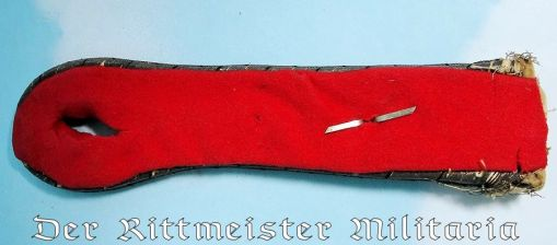 PRUSSIA - SHOULDER BOARD - LEUTNANT - HUSAREN-REGIMENT - Imperial German Military Antiques Sale